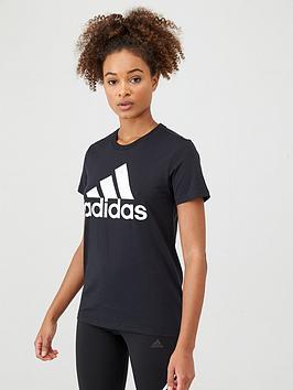 Adidas   Bos Co Tee - Black