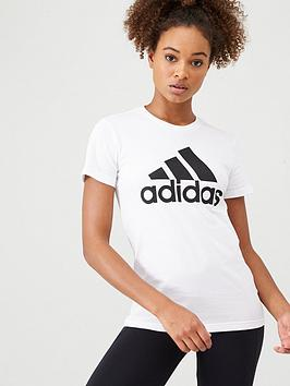 Adidas   Bos Tee - White