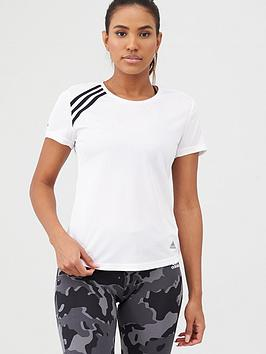 Adidas Adidas Run It 3S Tee - White Picture