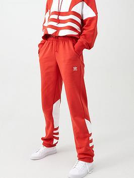 adidas Originals Adidas Originals Large Logo Sweat Pant - Red Picture