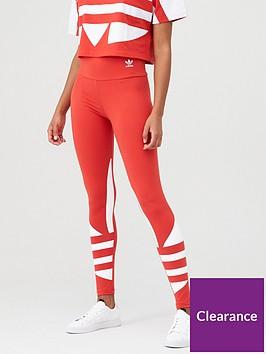 adidas-originals-large-logo-tight-red