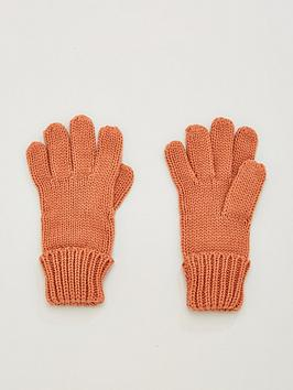 V by Very V By Very Knitted Glove - Dusky Pink Picture