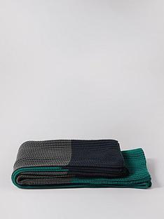 swoon-beasnbspcotton-blanket-teal-grey-and-navy