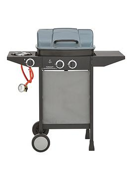 Very  2 Burner Gas Bbq With Side Burner
