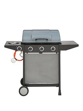 Very  3 Burner Gas Bbq With Side Burner