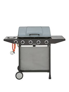 Very  4-Burner Gas Bbq With Side Burner