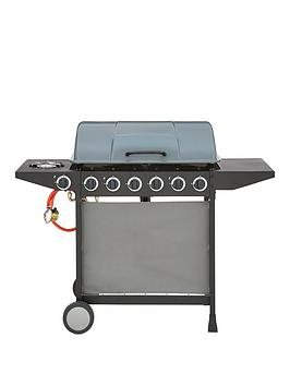 Very  6-Burner Gas Bbq With Side Burner