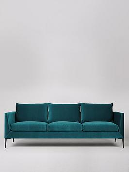 Swoon Swoon Catalan Fabric 3 Seater Sofa Picture