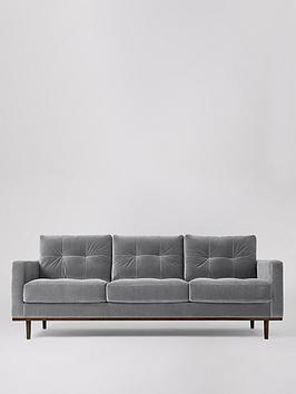 Swoon Swoon Berlin Fabric 3 Seater Sofa Picture