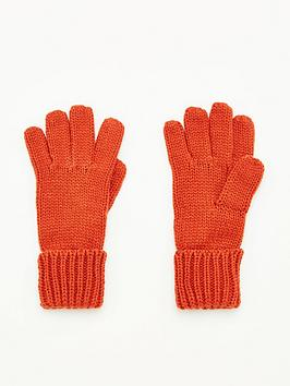 V by Very V By Very Knitted Glove - Rust Picture