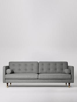 Swoon Swoon Porto Fabric 3 Seater Sofa Picture