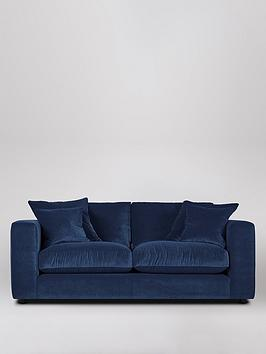 Product photograph showing Swoon Althaea Fabric 2 Seater Sofa