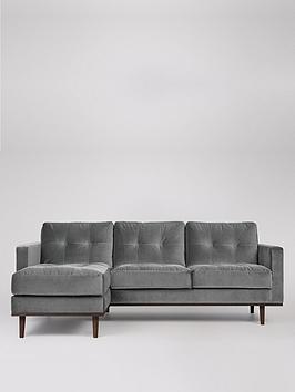Swoon Swoon Berlin Fabric Left Hand Corner Sofa Picture