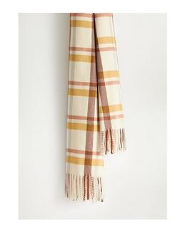mango-check-scarf