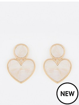 mango-heart-earrings-gold