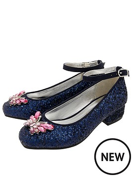 monsoon-camilla-butterfly-glitter-shoes-navy