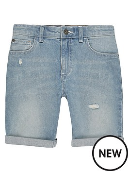 river-island-boys-slim-fit-denim-shorts-light-blue