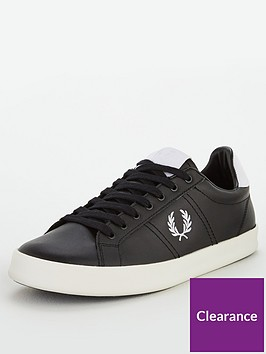 fred-perry-vulc-leather-trainer-black