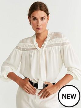 mango-dobby-blouse