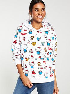 levis-x-hello-kitty-hoodienbsp--white