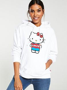 levis-x-hello-kitty-batwingnbsphoodienbsp--white