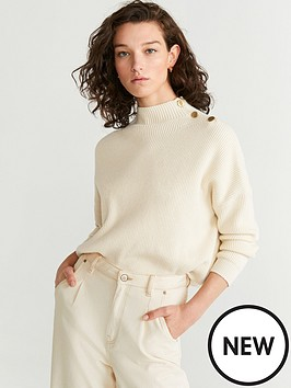 mango-buttong-shoulder-jumper