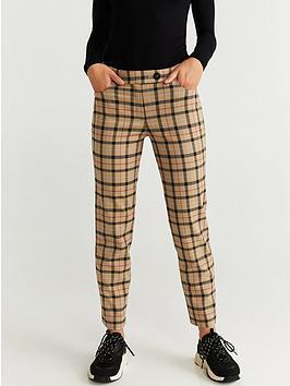 mango-straight-leg-check-trouser