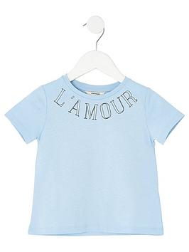 river-island-mini-mini-girls-printed-t-shirt-blue