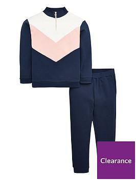 v-by-very-girls-zip-detail-colour-block-jog-set-navy