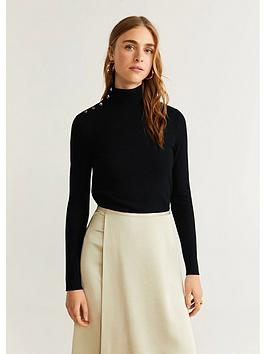 mango-button-neck-roll-neck