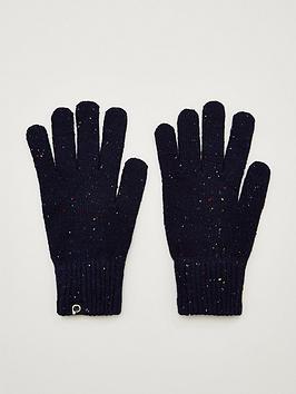 highgate-nep-knitted-gloves-navy