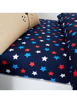 Catherine Lansfield Catherine Lansfield Super Dog Star Single Fitted Sheet Picture