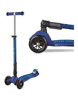 Micro Scooter Micro Scooter Deluxe Foldable Maxi Navy Picture