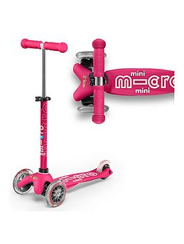 Micro Scooter Micro Scooter Mini Deluxe - Pink Picture