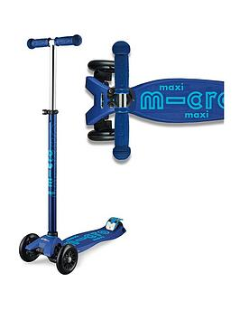 Micro Scooter Micro Scooter Maxi Deluxe - Navy Picture