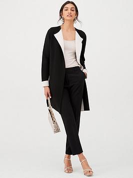 wallis-double-fronted-coatigannbsp--black