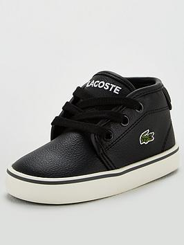 lacoste-infant-boys-ampthill-319-trainers-blackdark-grey