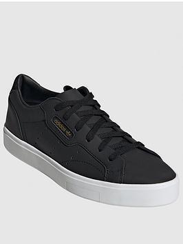 adidas Originals Adidas Originals Sleek - Black/White Picture