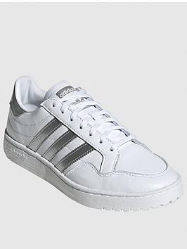 adidas Originals Adidas Originals Team Court - White/Silver Picture