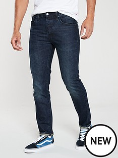 levis-501-slim-taper-fit-jeans-deep-and-dark-blue