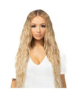 Beauty Works Beauty Works Double Hair Set Beach Wave 18 Inch 100% Remy Hair Picture