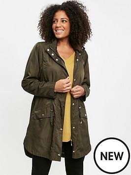 evans-evans-longline-curved-hem-lightweight-jacket