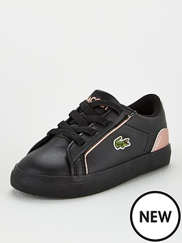 lacoste-infant-girls-lerond-319-trainers-blackpink