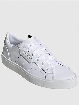 adidas Originals Adidas Originals Sleek - White Picture
