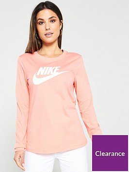 nike-nsw-essential-icon-futura-ls-top-pinknbsp