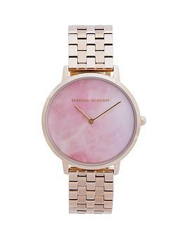 Rebecca Minkoff Rebecca Minkoff Rebecca Minkoff Blush Mother Of Pearl Dial  ... Picture