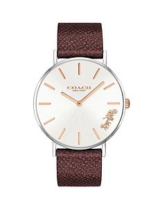 coach-coach-silver-and-rose-gold-detail-dial-dark-red-leather-strap-ladies-watch