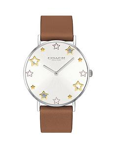 coach-coach-silver-and-gold-star-detail-dial-brown-leather-strap-ladies-watch