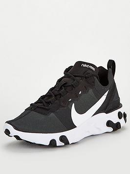 Nike Nike React Element 55 - Black/White Picture