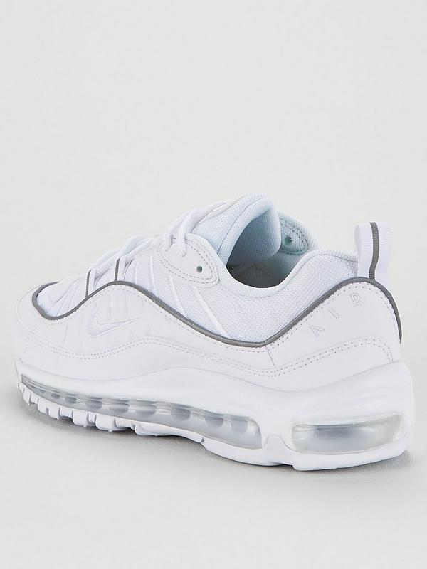 Nike Women S Air Max 98 White Littlewoods Com
